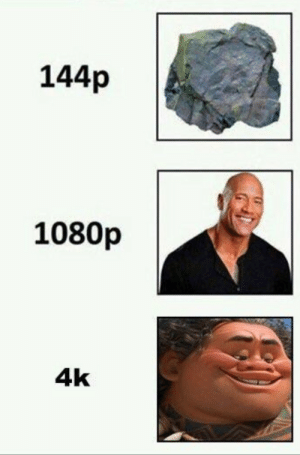 awesomesthesia:  Haha the rock: 144p  1080p  4k awesomesthesia:  Haha the rock