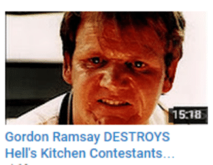 piglii:  : 15.18  Gordon Ramsay DESTROYS  Hell's Kitchen Contestants piglii: