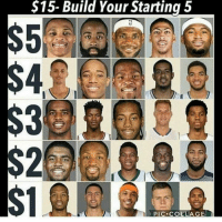 Comment your choice! 🏀🏀💯💯: $15- Build Your Starting 5  PIC. COLLAGE Comment your choice! 🏀🏀💯💯