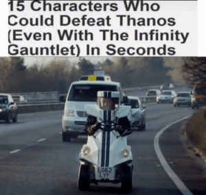 *avengers theme intensifies*: 15 Characters Who  Could Defeat Thanos  (Even With The Infinity  Gauntlet) In Seconds  G62  LYF *avengers theme intensifies*