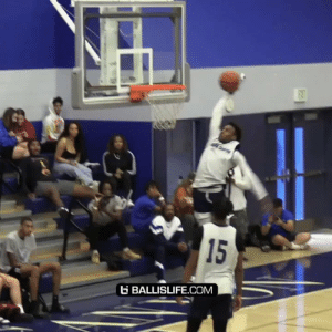 Bronny dunking way too easy now! https://t.co/8hsKtrceRY: 15  G BALLISLIFE.COM Bronny dunking way too easy now! https://t.co/8hsKtrceRY
