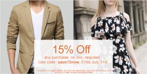 """meme-mage:  http://www.amtify.com/: 15% Off  any purchase, no min. required.  Use code: save15now, Ends July 31st.  * Discount is not applicable for all merchant advertisers, only valid for products sold  """"directiy by Amtify (excluding shipping fees). meme-mage:  http://www.amtify.com/"""