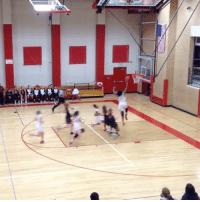 15-year-old Fran Belibi delivers first dunk in Colorado high school girls basketball history (via RJHSGDBball-Twitter): 15-year-old Fran Belibi delivers first dunk in Colorado high school girls basketball history (via RJHSGDBball-Twitter)