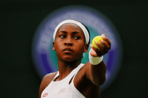 15-year-old phenom Coco Gauff has been eliminated from Wimbledon after an unbelievable run.  ◻️ Youngest to reach main draw ◻️ Beat Venus, a childhood idol ◻️ Advanced to Round of 16  Only the beginning.: 15-year-old phenom Coco Gauff has been eliminated from Wimbledon after an unbelievable run.  ◻️ Youngest to reach main draw ◻️ Beat Venus, a childhood idol ◻️ Advanced to Round of 16  Only the beginning.