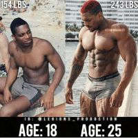 🔥😳INSANE TRANSFORMATION! Founder 👉: @king_khieu. 18 to 25 years old. 154 lbs = 70 kg. 243 lbs = 110 kg. Thoughts? 🤔 What do you guys think? COMMENT BELOW! Athlete: @bryan.macauley. TAG SOMEONE who needs to lift! _________________ Looking for unique gym clothes? Use our 10% discount code: LEGIONS10🔑 on Ape Athletics 🦍 fitness apparel! The link is in our 👆 bio! _________________ Principal 🔥 account: @fitness_legions. Facebook ✅ page: Legions Production. @legions_production🏆🏆🏆.: 154LBS  BRYAN MACAULEY  1 G@ L E G I 0 N SPR 0 D U C T I O N  AGE: 18  AGE: 25 🔥😳INSANE TRANSFORMATION! Founder 👉: @king_khieu. 18 to 25 years old. 154 lbs = 70 kg. 243 lbs = 110 kg. Thoughts? 🤔 What do you guys think? COMMENT BELOW! Athlete: @bryan.macauley. TAG SOMEONE who needs to lift! _________________ Looking for unique gym clothes? Use our 10% discount code: LEGIONS10🔑 on Ape Athletics 🦍 fitness apparel! The link is in our 👆 bio! _________________ Principal 🔥 account: @fitness_legions. Facebook ✅ page: Legions Production. @legions_production🏆🏆🏆.