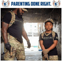 Memes, Freedom, and 🤖: (155) PARENTING DONE RIGHT. (  R  RMTA  TAC TASAL  ameneahaast Father Freedom is on to something here. Start 'em young!