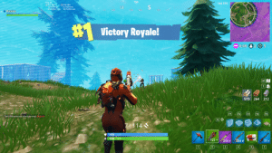 """Anaconda, F1, and First: 158  144 FPS  3.95 KB/  71 Packe  SE  Buniuu  120  150 1695  195  Victory Royale!  0:09 205  979 264 212  F1  F2  F3  F4  F5  TwitchNicolassss shotgunned Gkzzils  7斤1 148  + 100  -1224
