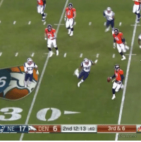 Brock Osweiler just drilled some poor guy in the head 💀😂 https://t.co/18szC5MgQA: 16  53  3O  2nd 12:13 :403  3rd & 6  CJZERO Brock Osweiler just drilled some poor guy in the head 💀😂 https://t.co/18szC5MgQA