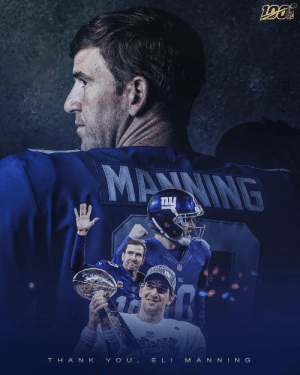16 NFL seasons. Countless memories.  Thank you, Eli. #GiantsPride https://t.co/4Gfu42AAJj: 16 NFL seasons. Countless memories.  Thank you, Eli. #GiantsPride https://t.co/4Gfu42AAJj