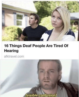 Things Deaf