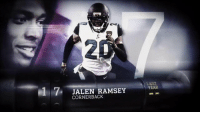 "Memes, Pro, and Never: 17 JALEN RAMSEY  LAST  YEAR  CORNERBACK ""He never has his mouthpiece in his mouth because he's always talking.""  @JalenRamsey backed up that talk with an All-Pro season in 2017. #NFLTop100 https://t.co/PGHj1IIDmp"