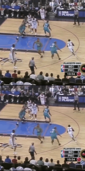 """17 Years ago today, Allen Iverson put up 55 PTS (21-32 FG) & 8 AST in GM1 vs the Hornets. 20 in the 4th!  """"It's right up there with Mike's 63.'' - Paul Silas  """"I caught a rhythm. The basket looked like an ocean & I was just throwing rocks in"""" - AI   https://t.co/q7BqDwlNhP: 17 Years ago today, Allen Iverson put up 55 PTS (21-32 FG) & 8 AST in GM1 vs the Hornets. 20 in the 4th!  """"It's right up there with Mike's 63.'' - Paul Silas  """"I caught a rhythm. The basket looked like an ocean & I was just throwing rocks in"""" - AI   https://t.co/q7BqDwlNhP"""