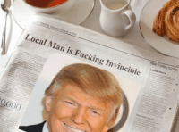 Local Man: UNTIMES Thursday February 02014  Local Man is Fucking Invincible  Shit-E  Latest g Grins  News  0000  Thai beer on tap