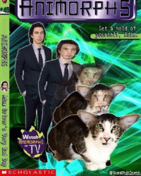 Animorphs: Get a hold of  Watch  AnIMORPHS.  TV  on  賊SCHOLASTIC  @someCmermesesom  hile Twoate  memes Com  f  dA  hf  ae  二!  eu  g  Go  hp  ate OR  10  Fi AllTHORPHS Asian Driver's Very Bad Day