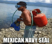 Here's another Mexican Navy Seal LMAO : ispanIGS  l Re  MEXICAN NAVY SEAL Here's another Mexican Navy Seal LMAO