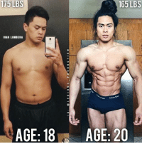 🔥😳TRANSFORMED! Founder 👉: @king_khieu. 18 to 20 years old. 175 lbs = 79.5 kg. 165 lbs = 75 kg. Thoughts? 🤔 What do you guys think? COMMENT BELOW! Athlete: @ivanlumberafitness. TAG SOMEONE who needs to lift! _________________ Looking for unique gym clothes? Use our 10% discount code: LEGIONS10🔑 on Ape Athletics 🦍 fitness apparel! The link is in our 👆 bio! _________________ Principal 🔥 account: @fitness_legions. Facebook ✅ page: Legions Production. @legions_production🏆🏆🏆.: 175  LBS  165 LBS  IVAN LUMBERA  AGE: 18  AGE: 20 🔥😳TRANSFORMED! Founder 👉: @king_khieu. 18 to 20 years old. 175 lbs = 79.5 kg. 165 lbs = 75 kg. Thoughts? 🤔 What do you guys think? COMMENT BELOW! Athlete: @ivanlumberafitness. TAG SOMEONE who needs to lift! _________________ Looking for unique gym clothes? Use our 10% discount code: LEGIONS10🔑 on Ape Athletics 🦍 fitness apparel! The link is in our 👆 bio! _________________ Principal 🔥 account: @fitness_legions. Facebook ✅ page: Legions Production. @legions_production🏆🏆🏆.