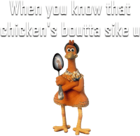 antijokes: When know that  Chicken's i i i i  sike