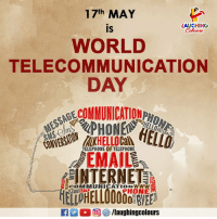 Internet, Phone, and Email: 17th MAY  is  WORLD  TELECOMMUNICATION  DAY  LAUGHING  Colowrs  RECOMMUNICATIVID  TELEPHONE OF TELEPHONE  EMAIL  INTERNET  COMMUNICATIONWww  GalTA  PHONE  f/laughingcolours
