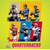 Aaron Rodgers: 18  RN  DREW  BREES  JARED  AARON  RODGERS  PATRICK  MAHOMES  PHILIP  RIVERS  TOM  BRADY  QUARTERBACK  PRO BOWL  ORLANDO Z01