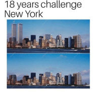 New York: 18 years challenge  New York