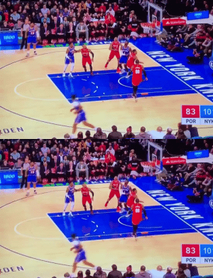 """I got it, f**k outta here!""  Vintage Melo had a season-high 26 PTS & 1 GTFO REB in his return to MSG   https://t.co/3Nh2Ze33zy: 1800  AStateFarm  1800  83 10  POR  RDEN  NYK   1800  AStatefarm  0091  83 10  POR  NYK  RDEN ""I got it, f**k outta here!""  Vintage Melo had a season-high 26 PTS & 1 GTFO REB in his return to MSG   https://t.co/3Nh2Ze33zy"