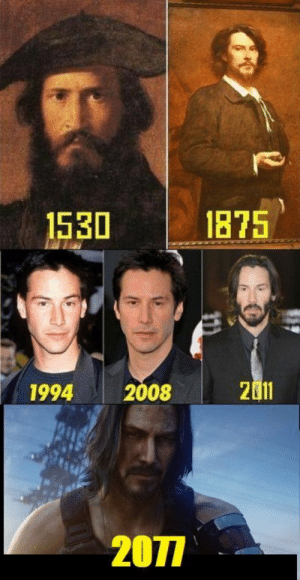 Keanu Reeves, Immortal, and Keanu: 1875  1530  2011  2008  1994  2077 Immortal Keanu Reeves
