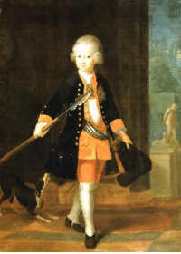 Cute, Target, and Tumblr: 187o:  Cute little Kronprinz FrederickPortrait by Antoine Pesne (1724)