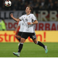 """""""Mario Götze is the best German footballer. He has such an incredible talent, he can just do everything on the ball. I consider him to be a player with quite extraordinary abilities, I like him very much.""""  - Luís Figo: 19  9  D """"Mario Götze is the best German footballer. He has such an incredible talent, he can just do everything on the ball. I consider him to be a player with quite extraordinary abilities, I like him very much.""""  - Luís Figo"""