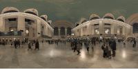 Dank, Facebook, and Videos: 19 Explore Grand Central Terminal and the stories that unfold there in the first film shot with the new Facebook Surround 360 camera. Watch the film in standard monoscopic 360 here, or find it in the Oculus Video app to watch in full 3D-360 with Gear VR.