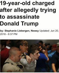 he looks like a cody. free my nigga cody: 19-year-old charged  after allegedly trying  to assassinate  Donald Trump  by: Stephanie Liebergen. Newsy Updated: Jun 20  2016 8:37 PM he looks like a cody. free my nigga cody