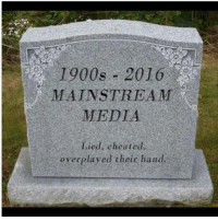 Cheating, Memes, and Victorious: 1900s 2016  MAINSTREAM  MEDIA  ied cheated,  overplayed their hand. Now THIS, is a victory for us all.