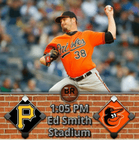 This afternoon, the Orioles will host the Pirates in their home opener for Spring Training. Wade Miley will take the mound for the O's against Jameson Taillon of the Pirates. This game will be broadcasted on 105.7 The Fan locally. Go O's!: 1905 PM  Ed  Stadium. This afternoon, the Orioles will host the Pirates in their home opener for Spring Training. Wade Miley will take the mound for the O's against Jameson Taillon of the Pirates. This game will be broadcasted on 105.7 The Fan locally. Go O's!