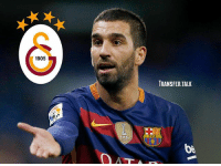 Arsenal, Barcelona, and Fifa: 1905  TRANSFER.TALK  FIFA  bA Arsenal are to miss out on the signing of Barcelona midfielder Arda Turan, with Galatasaray set to complete a deal, according to the Mirror. - transferrumour transfernews transfertalk transfers transfer