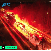Soccer, Russia, and How: 1925  zenit splb How soccer fans in Russia 'greet' their team bus 😲