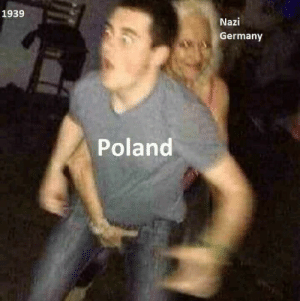 Meme, Germany, and Historical: 1939  Nazi  Germany  Poland Historical meme midden