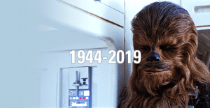 Chewbacca, Gif, and Tumblr: 1944-2019 chewbacca:R.I.P. Peter Mayhew(19 May 1944 – 30 April 2019)