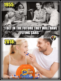 "<p>Back to the&hellip;future? via /r/memes <a href=""http://ift.tt/2ER2o4R"">http://ift.tt/2ER2o4R</a></p>: 1955  ""I BET IN THE FUTURE THEY WILL HAVE  FLYING CARS  2018:  ID  PeDS  adam.the.creator <p>Back to the&hellip;future? via /r/memes <a href=""http://ift.tt/2ER2o4R"">http://ift.tt/2ER2o4R</a></p>"