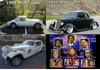 The classics: 1960  MGA  Coupe  1935  ford  custom  coupe  1985 Classic Motor Carriage Tiffany Classic Coupe  DoJ  FBI  LYNCH  EY  2016  Coup  OBAMA  S,  SALLY YATES  ANDRFW MEARF  RUSSIAN DOSSIER  GLENN SIM The classics