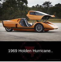 Memes, Hurricane, and 🤖: 1969 Holden Hurricane.  fb.com/fact tsweird