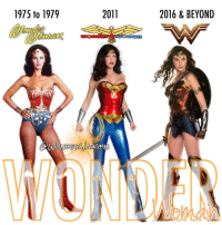 Abc, Amazon, and Memes: 1975 to 1979  2011  2016 & BEYOND The Women of Wonder @reallyndacarter The 1975-1979 TV series first aired on ABC for season 1 then switched to CBS for seasons 2 and 3. * @adriannepalicki (of @agentsofshield) The 2011 TV series never aired on NBC but the 2-hour pilot episode was filmed. * @gal_gadot The 2016 DCEU filmverse marks the first cinematic appearance of the Amazon Princess in 75 years.
