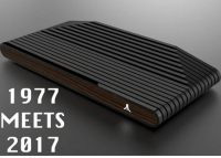 Memes, Games, and Http: 1977  MEETS  2017 Flashback! Atari is releasing a brand new console that is inspired by the 1970s look of the original Atari 2600. It will even play classic games along with new ones. What do you think? Details: http://bit.ly/2u0ek1H