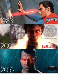 """Bailey Jay, Batman, and Love: 1983  UPERM  COMC  PODCAST  021  UNCANNYCOMICQUEST  200  SMALLVILLE  2016 HUGE Superman fan here. On my ribcage I've got the """"Death of Superman"""" cover tattooed! No joke. I love all these actors interpretations but I think my boy @tomwelling is still my favorite. I loved that show Smallville. I still watch it! ALSO, before one of you tries to call me out because I'm a Smallville expert, this Smallville image is actually of Bizarro BUT due to a lack of good quality heat vision photos from Clark, I had to use it and it looks amazing. So HA! You're not calling me out 😜 . . 🚨Spider-Man: Homecoming review coming on Monday. Be sure to subscribe to the podcast by clicking the link in my bio👍🏼🚨 . . . batman superman wonderwoman aquaman justiceleague christopherreeve tomwelling henrycavill darkseid greenarrow greenlantern arrow theflash flash reverseflash wallywest kidflash supergirl melissabenoist dctv dceu dccomics dcrebirth"""