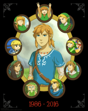 t00d:  happy 30th anniversary to the Legend of Zelda!: 1986 - 2016  t00de tumblr  theunspokenprophet@deviantart t00d:  happy 30th anniversary to the Legend of Zelda!