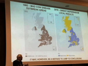 Funny, Mad, and Brexit: 1992-MAD COW DISEASE  OUTBREAK AREAS  2016  -BREXIT REFERENDUM  LOCAL RESULTS  1992  per 2010  Sey  Se  IT MAY, HOWEVER, BE A MISTAKE TO JUMP TO CONCLUSIONS It may, however, be a mistake to jump to conclusions via /r/funny https://ift.tt/2QAK0nz