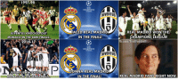 Finals, Football, and Memes: 1997-98  CHAMPIONS  LEAGUE.  JUVENTUS  FACED REAL MADRID  REAL MADRID WON THE  JUVENTUS KNOCKED-OUT  MONACO IN THE SEMI-FINALS  IN THE FINAL!  CHAMPIONS LEAGUE!  Fb.com/Troll Football  2016-17  MLN  CHAMPIONS  LEAGUE.  JUVENTUS  GONNA REAL MADRID  JUVENTUS KNOCKED OUT  REAL MADRID FANS RIGHT NOW.  MONACO IN THE SEMI FINALS  IN THE FINAL! Real Madrid fans right now https://t.co/Cmzx2Z1XwV