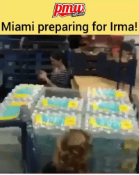 Memes, Florida, and Lifestyle: 1D  HIPHOP  Miami preparing for Irma! People scrambling for water in miami. (Via @lifestyle_miami) hurricaneirma irma Florida