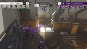 Tumblr, Blog, and Los Angeles: 1G  LOS ANGELES GLADIATORS  SEOUL DYNASTY  MAP 3 OF4  0  0 SHAz just-the-storyteller:  I know seoul won the match but like???? HOW?????