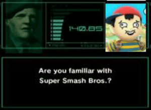 https://t.co/VGzun1lcNQ: 1H.5  Are you familiar with  Super Smash Bros.? https://t.co/VGzun1lcNQ