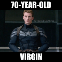 I'm disappointed captainamerica avengers marvel marvelmemes comicbookmemes: 70-YEAR-OLD  IG Comic Book Memes  VIRGIN I'm disappointed captainamerica avengers marvel marvelmemes comicbookmemes