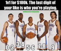Who are you playing? @joeltheprocess x @hoopsnation Tags: Thunder NBA Russ Legends: 1v1 for $10Ok. The last digit of  your nke is Who youre playing.  JoeltheprocessX Hoopsnation  SPALDING  RIA Who are you playing? @joeltheprocess x @hoopsnation Tags: Thunder NBA Russ Legends